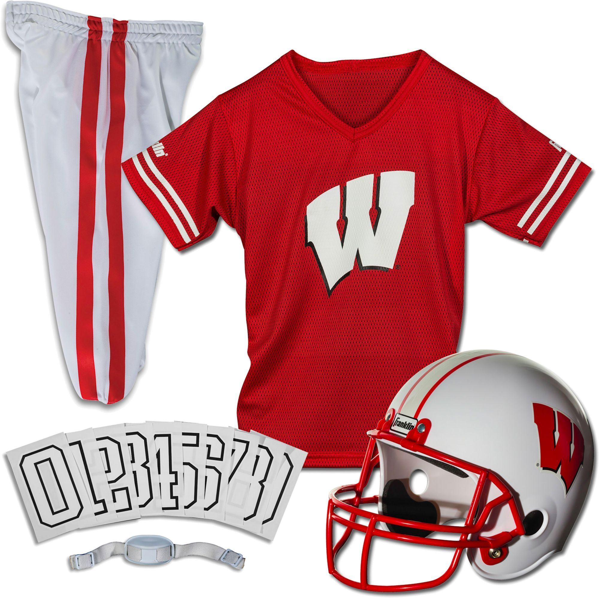 efe60f01 Franklin Wisconsin Badgers Deluxe Uniform Set | Products | Football ...