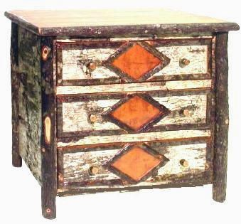 Superior Birch Bark And Hickory Furniture And Accessories!