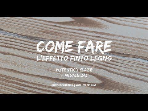 Come fare l Effetto Finto Legno con AUTENTICO GLAZE + VENALEGNO ... b9580fd195c2