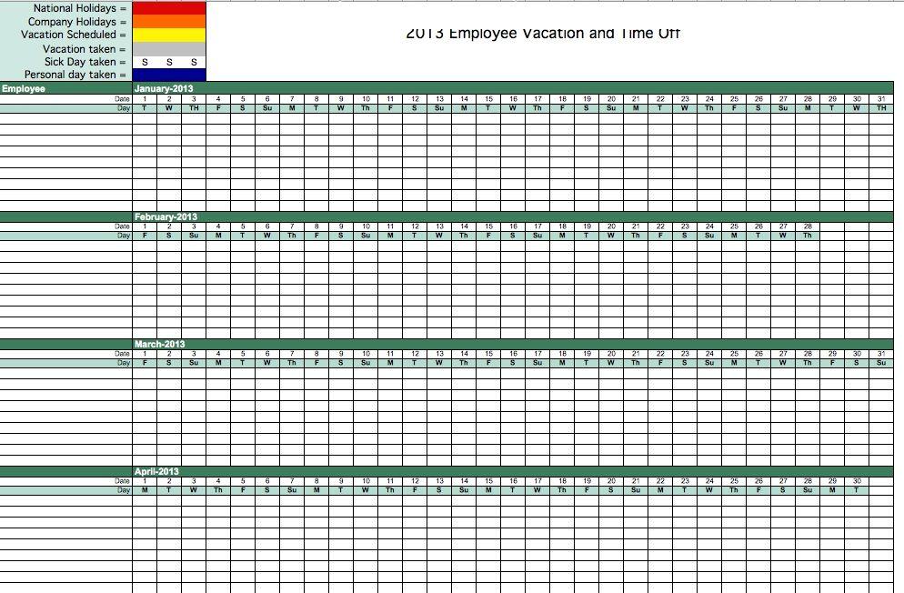 Printable Calendar For Employees Time Photo Di 2021