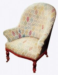 Fauteuil crapaud Louis Philippe