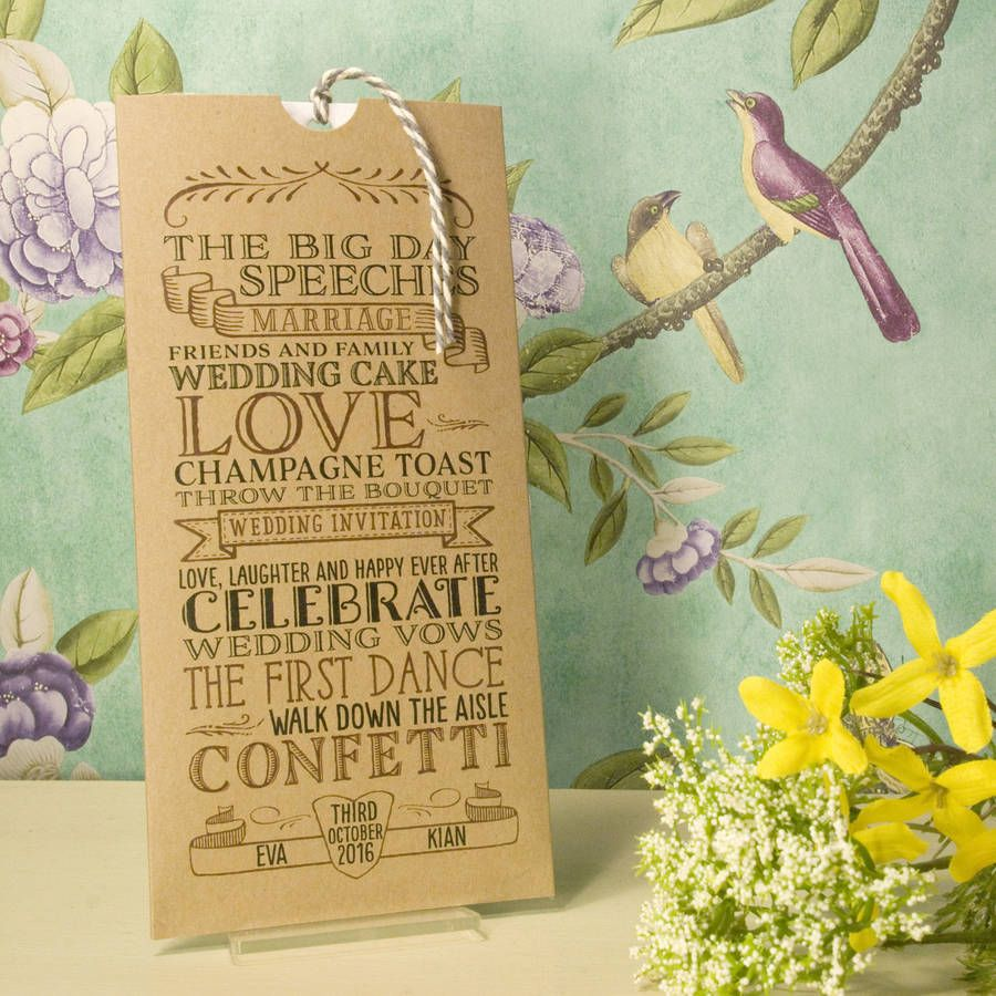 Do You Need An Inner Envelope For Wedding Invitations: Vintage Wedding Invitation