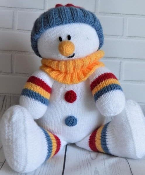 Snowman Softie Lil Projects Pinterest Knitting Patterns