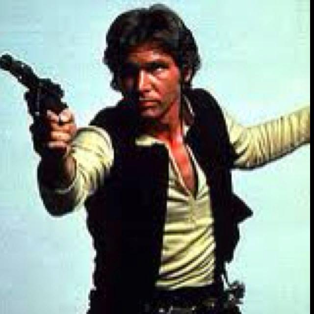 Mr. Han Solo... Yum