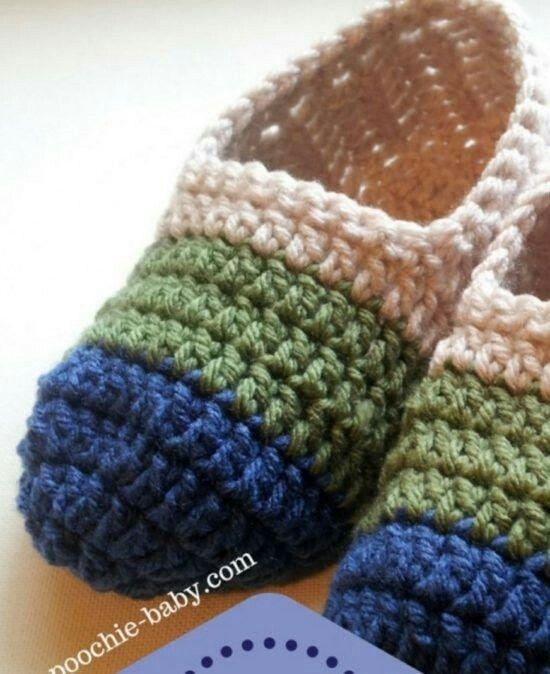 Pin de Peggy Morrison en Crochet slipper pattern my | Pinterest ...