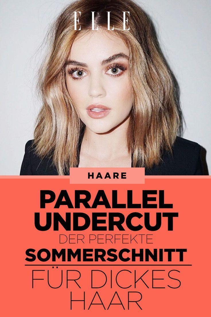 Parallel Undercut: der Haarschnitt für mehr Leichtigkeit