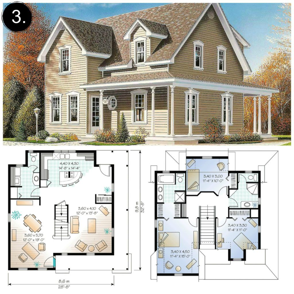 10 Floor Plans Under 2 000 Sq Ft Gorgeous Farmhouse Floorplans Under 2 000 Square Feet Loving A Modern Farmhouse Floorplan Floor Plans Farmhouse Floor Plans