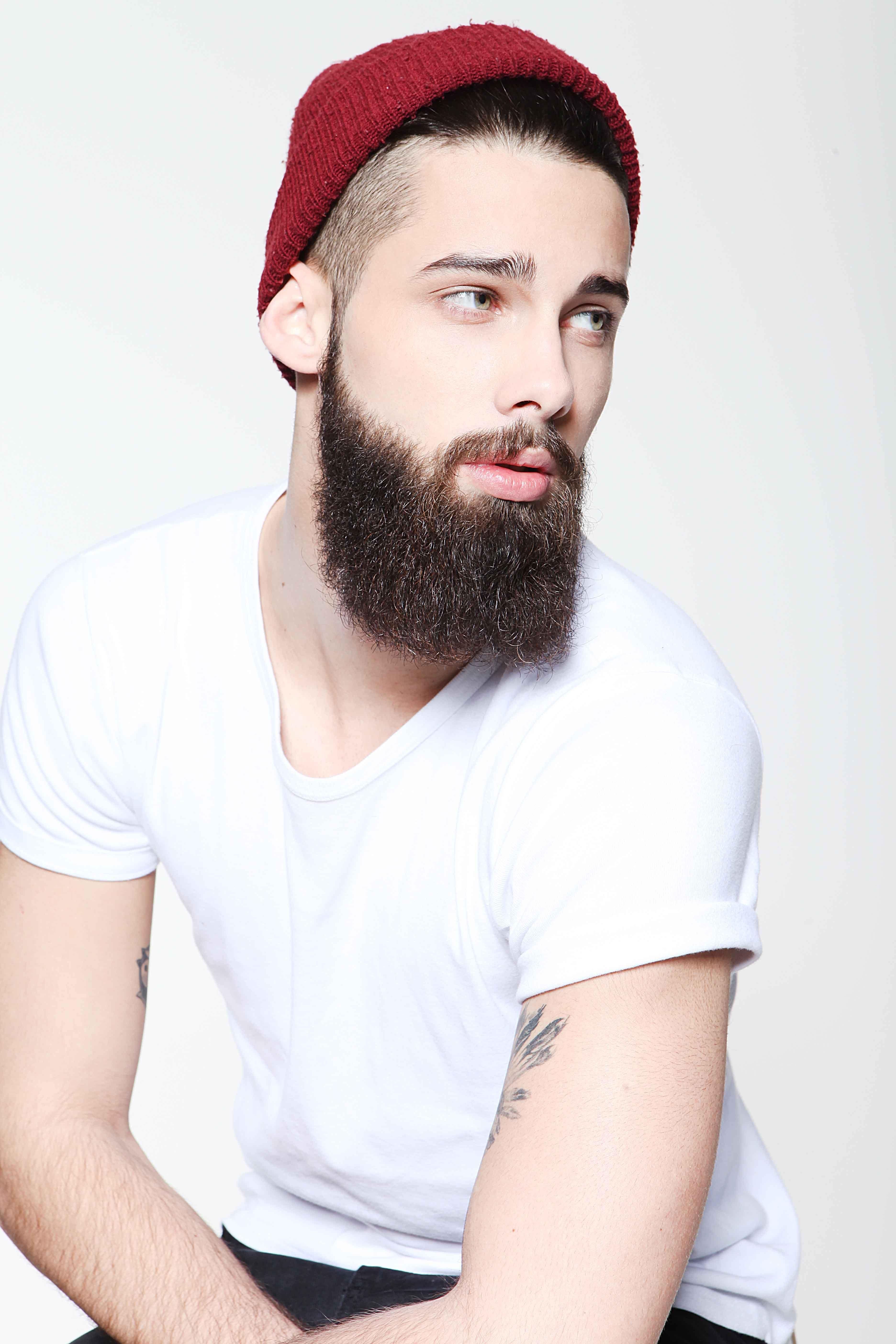 Mens haircuts with beards beanies on guys  jimmy launay  style  mens  pinterest  beanies