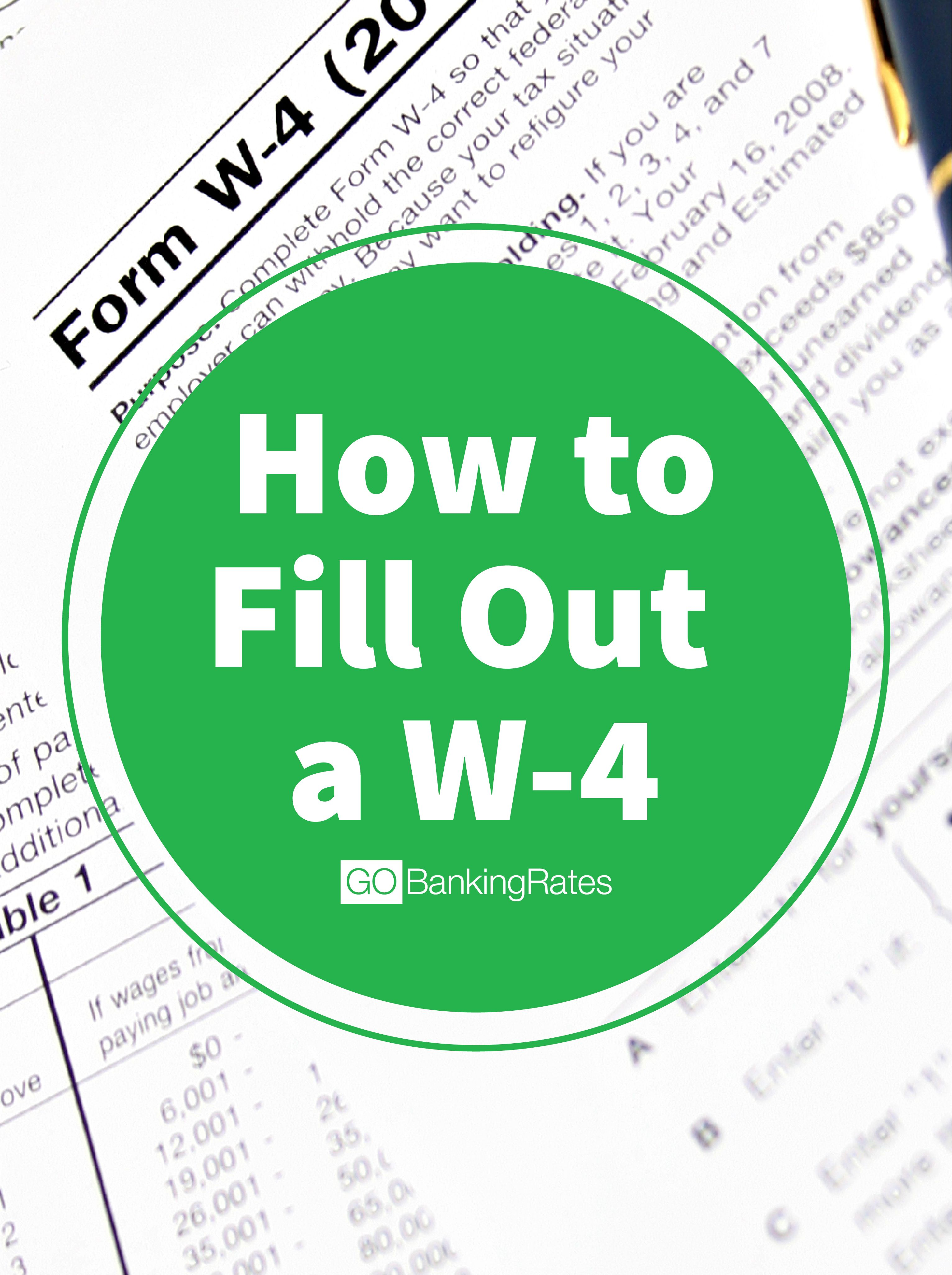 Click Through To Learn How To Fill Out A W 4