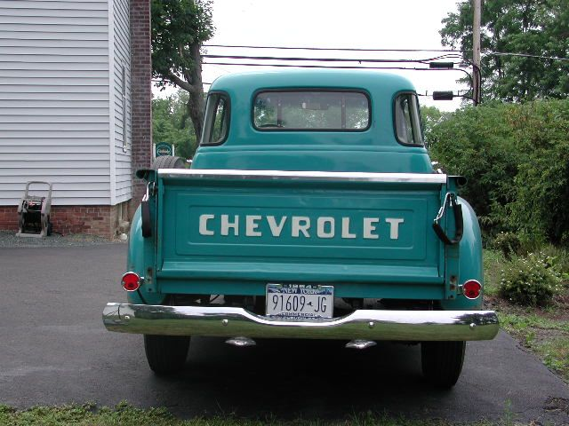 54 Chevy Truck With 5 Windows I Have One Like This Vintage Trucks Chevy Trucks 1954 Chevy Truck