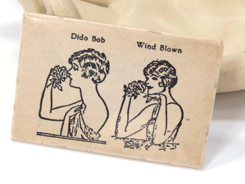 Flapper Hair Style Pocket Mirror - 1920s Vintage Purse Handbag Accessory #flapperhair