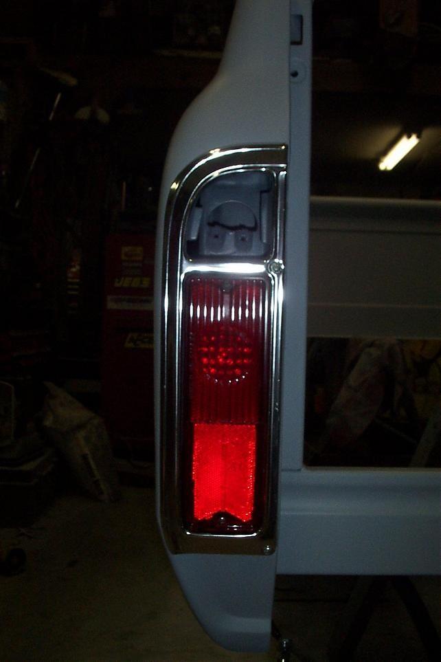 Tail Light Fuel Filler The 1947 Present Chevrolet Gmc Truck