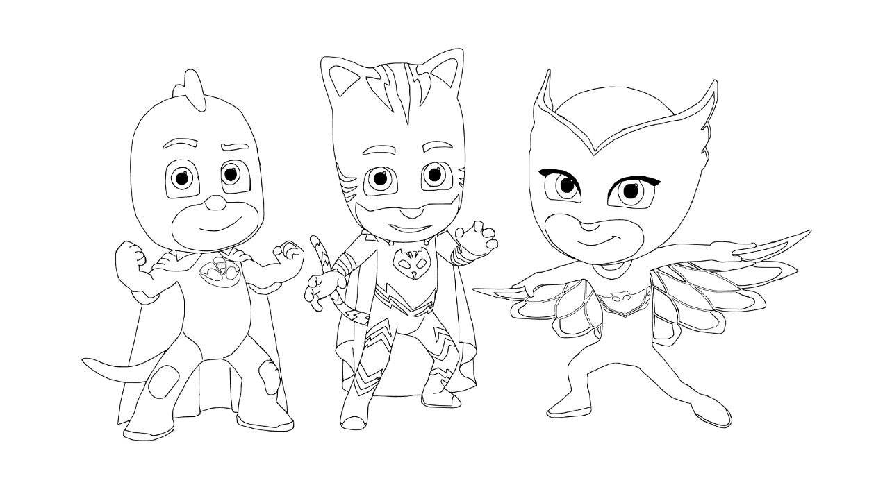 Zurg coloring pages printable - Pj Masks Coloring Pages To Download And Print For Free