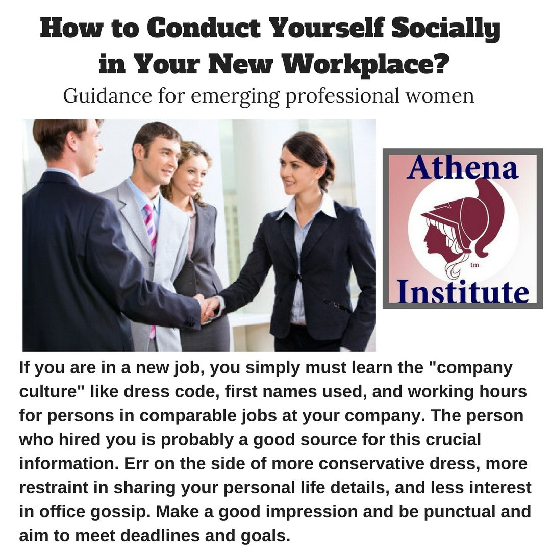 professional woman should consult this guide on how to conduct