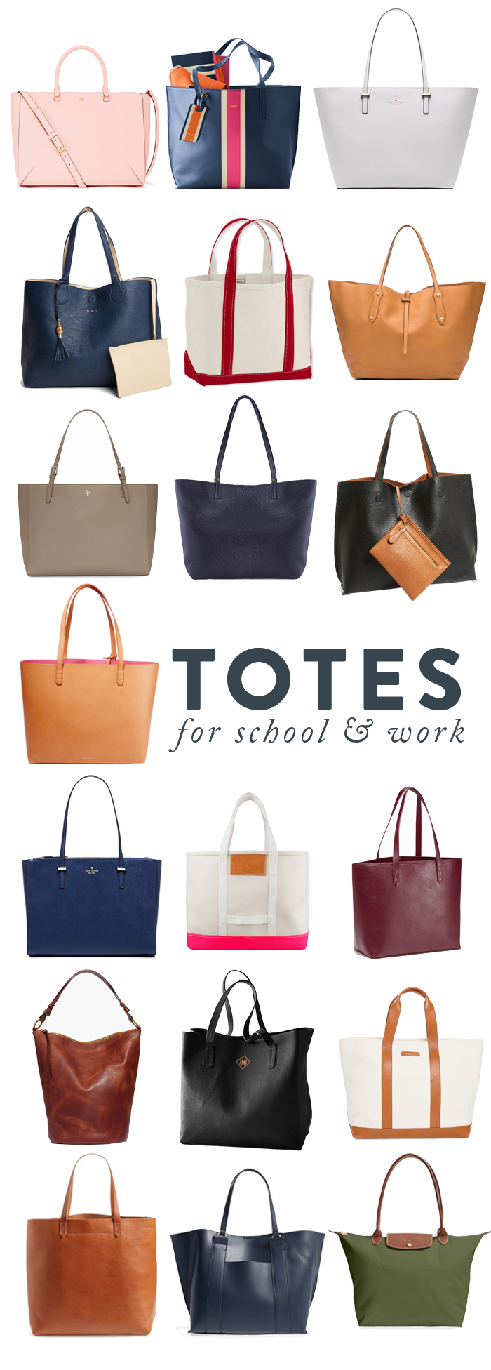 Tote Roundup (The College Prepster) | College, Bag and School