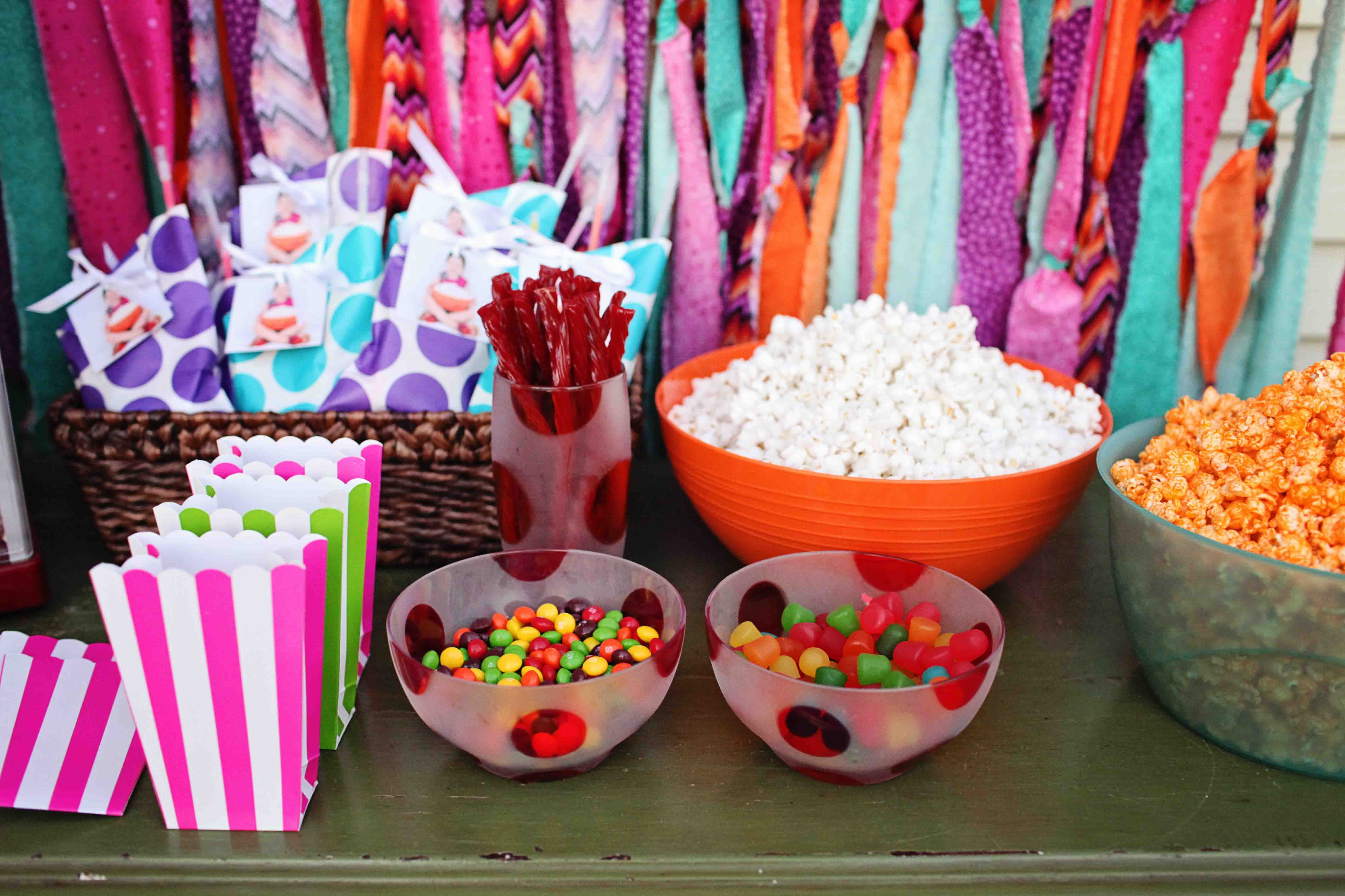 First Birthday Home Party Ideas Beautiful Emily S
