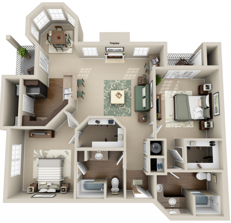 3d Plan Top View Amazing Ideas Engineering Discoveries Home Design Floor Plans Sims House Design House Floor Plans