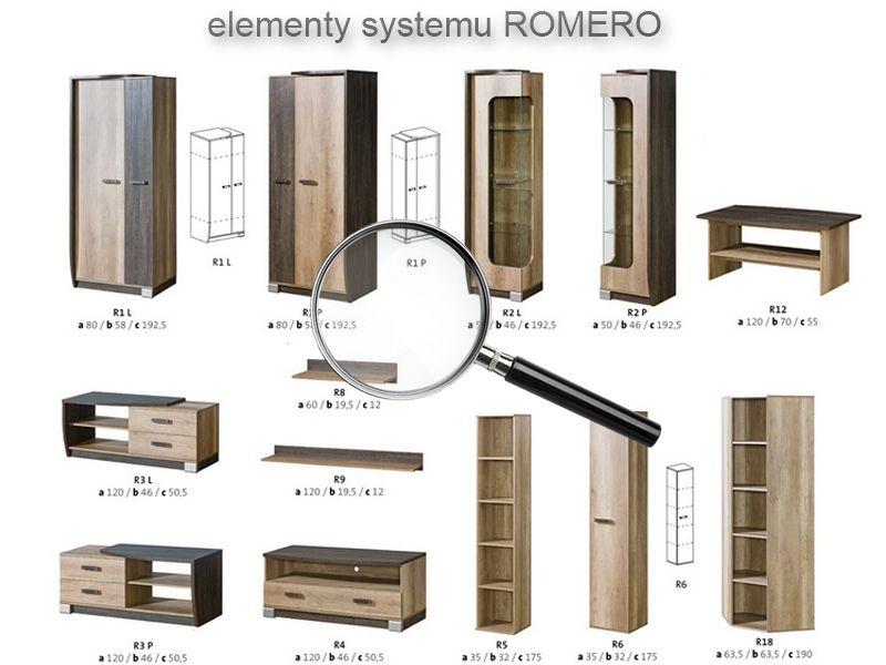 Meble Salonowe Pokojowe Do Pokoju Salonu Romero 5 4443725287 Oficjalne Archiwum Allegro