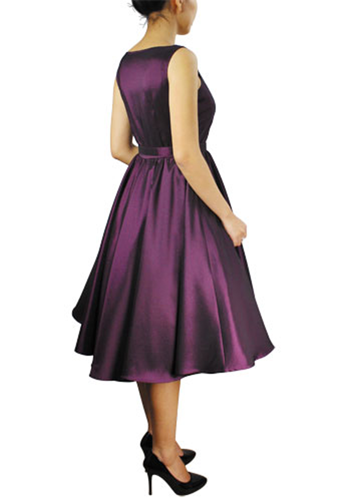Audrey Hepburn Dress | ... here : Home / Dresses / Satin Audrey ...