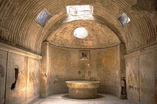 Bath Caldarium At Pompeii 18/11/13