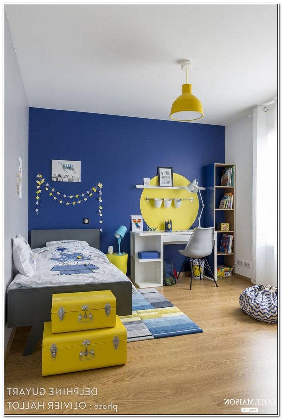 Chambre Ado Bleu Petrole Con Imagenes Decoracion De
