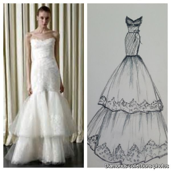 Simple Fashion Design Sketches Of Dresses 2014 2015 Diamonds Photo 2014 Dresses Fashion Design Sketches Fashion Design