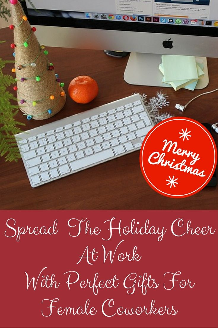 Awesome Christmas Gift Ideas Female Coworkers Would LOVE | Gifts for ...