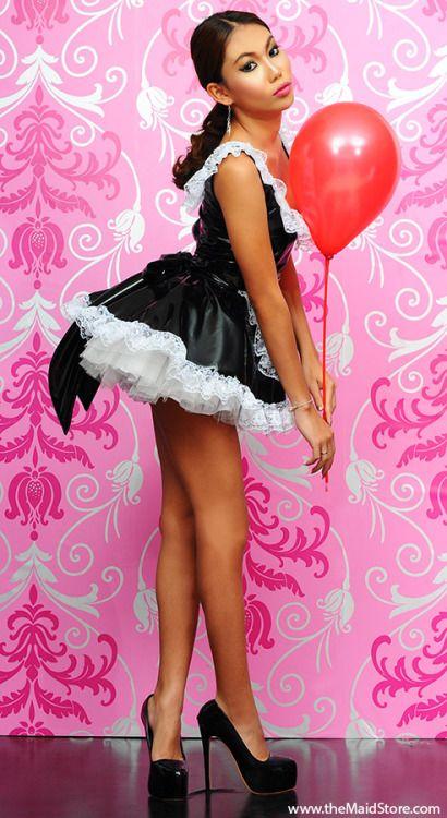 Pingl par hartur kesson sur je suis une sissy pinterest french maid maid et maid uniform - Uniforme femme de chambre ...