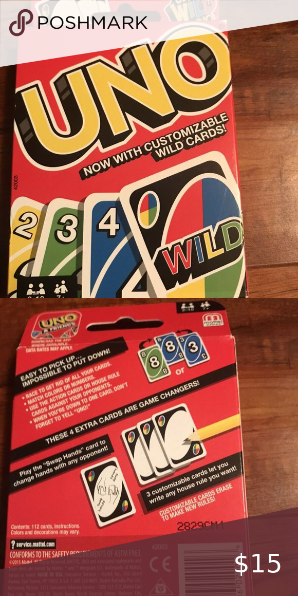 Uno Classic Card Game New Classic Card Games Classic Card Card Games