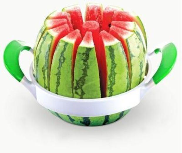Watermelon Slicer.  What a great idea!