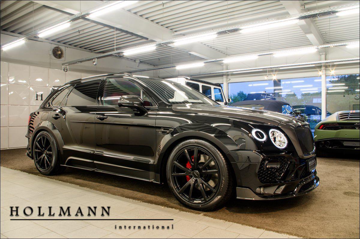 Hollmann international: Bentley Bentayga V8 Diesel MANSORY