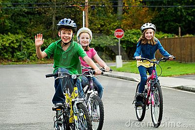 Past Play Riding Bikes Exercise For Kids Happy Kids Kids