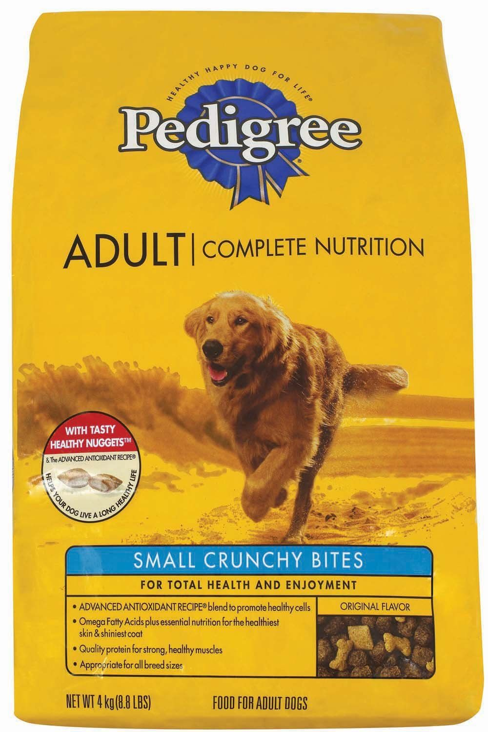 Pedigree 20 Lb Small Beef Bites Complete Nutrition Hope You