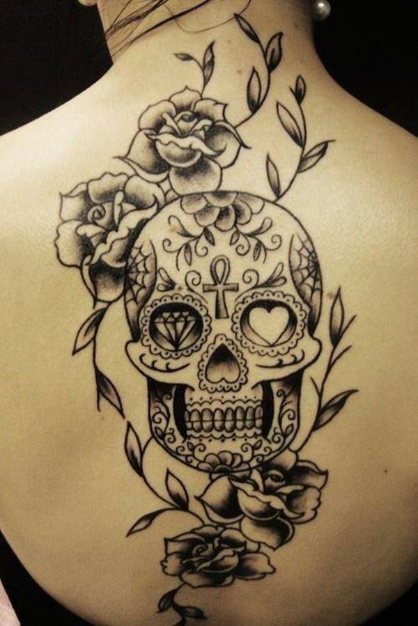 Mejores 40 Sugar Skull Tattoo Significado Y Disenos Tatuajes De