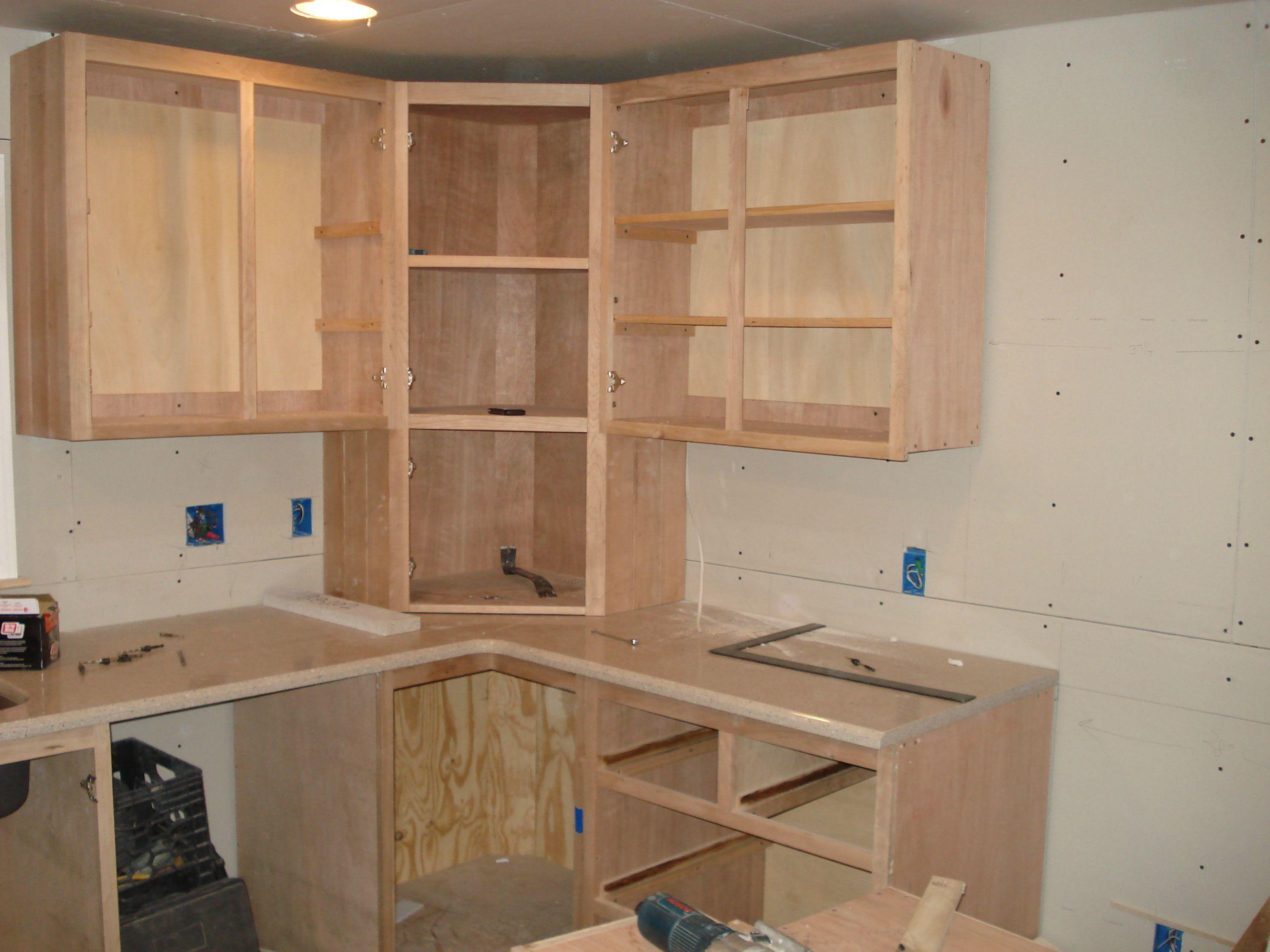 My 2 1 2 Year Home Renvoation Building Kitchen Cabinets Corner Kitchen Cabinet Rustic Kitchen Cabinets