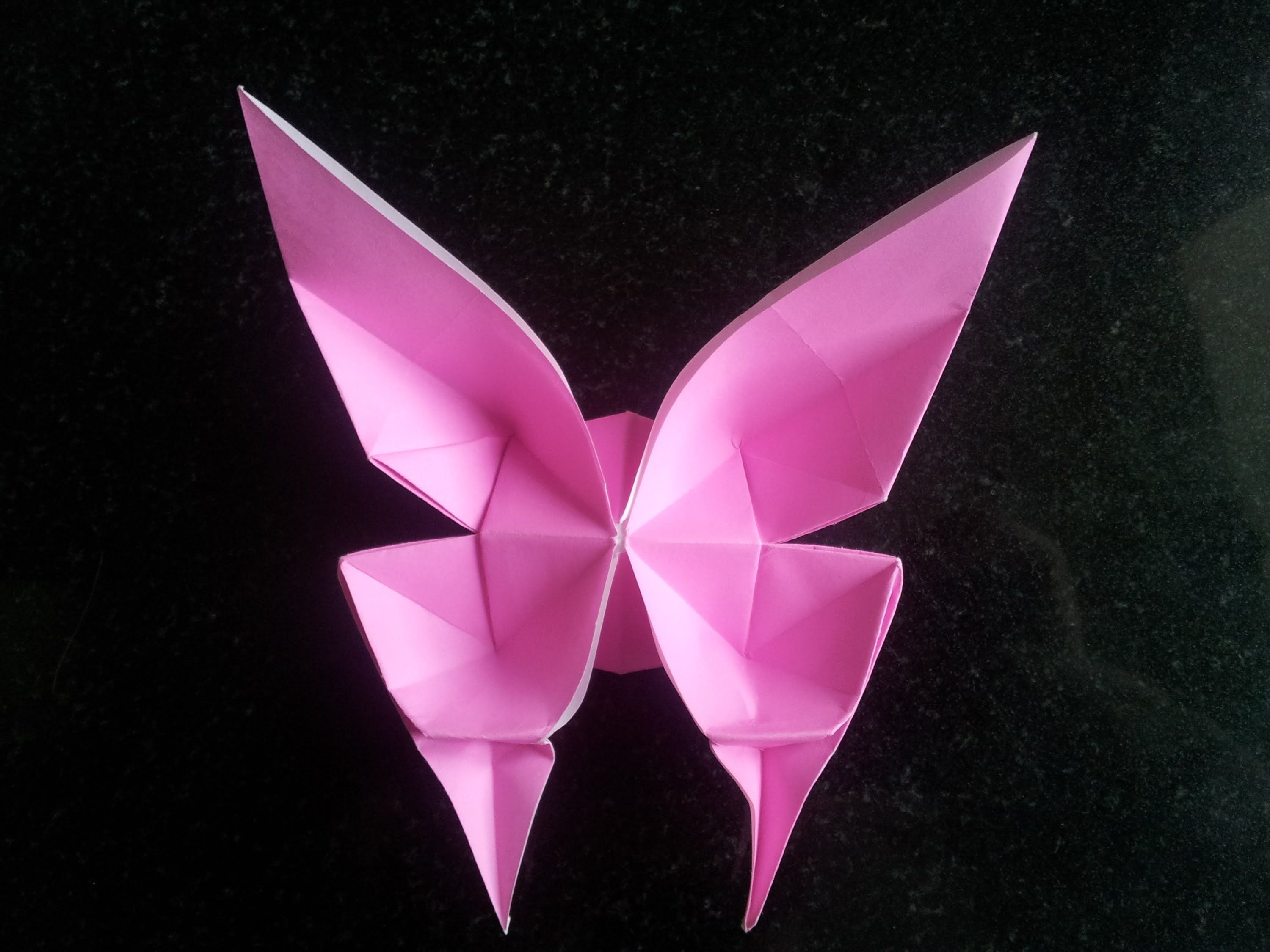 How To 3D Origami Butterfly