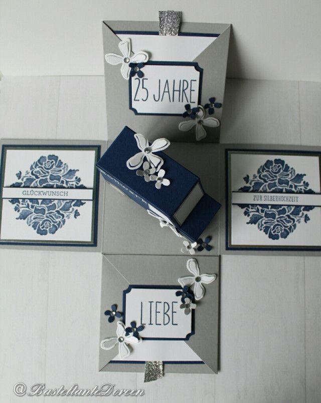 geschenk zur silberhochzeit von firma bollwerk gifts pinterest silberhochzeit. Black Bedroom Furniture Sets. Home Design Ideas
