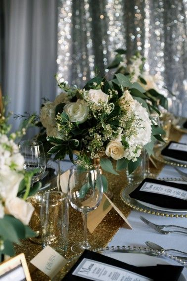 modern black and gold wedding ideas flower ideas pinterest rh pinterest com