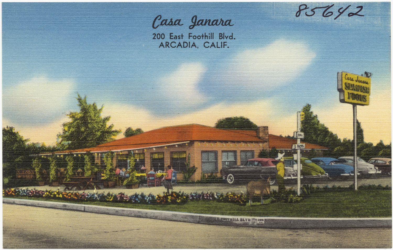 All sizes | Casa Janara, 200 East Foothill Blvd., Arcadia, Calif. | Flickr…