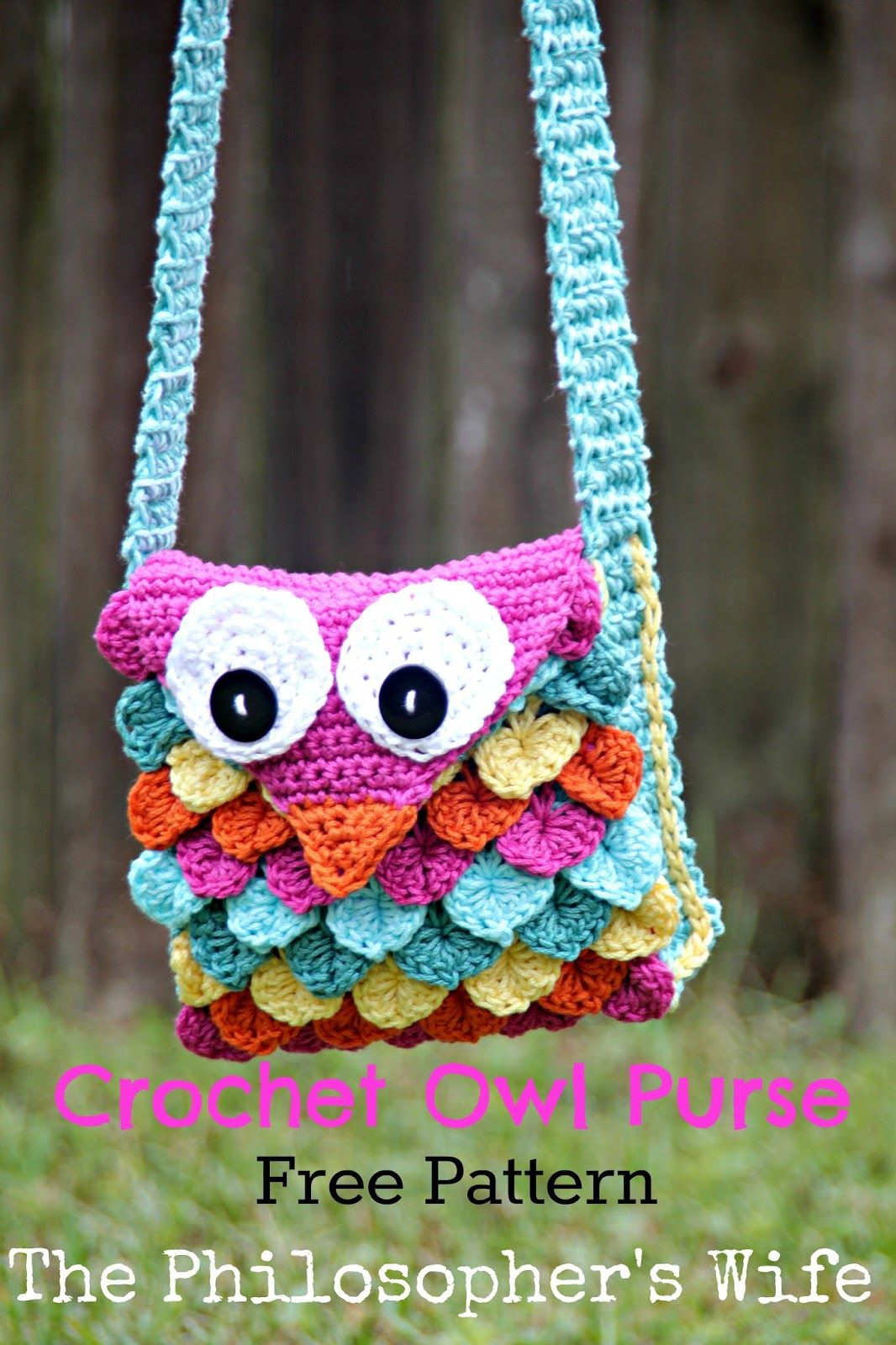 The Philosopher\'s Wife: Crochet Owl Purse FREE Pattern | Craftastic ...