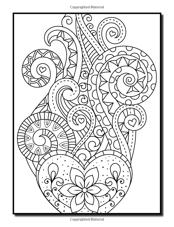 Amazon Com Coloring Books For Adults Relaxation 100 Magical Swirls Coloring Book With Fun Easy Relaxing Coloring Book Coloring Books Amazon Coloring Books