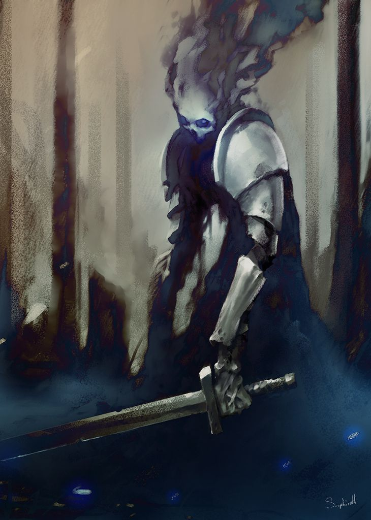 Image result for shadowy knight