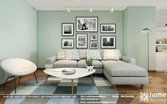 Thiết kế nội thất căn hộ CH3 chung cư Discovery Complex