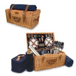 @Overstock - Take your friends or lover on a picnic with this large picnic basket. The basket features the Seattle Seahawks, so its great for fans, and it has supplies for service for four, so you can serve multiple people, a family, or have extras for tailgating.http://www.overstock.com/Home-Garden/Picnic-Time-Navy-Seattle-Seahawks-Windsor-Picnic-Basket/6198557/product.html?CID=214117 Add to cart to see special price