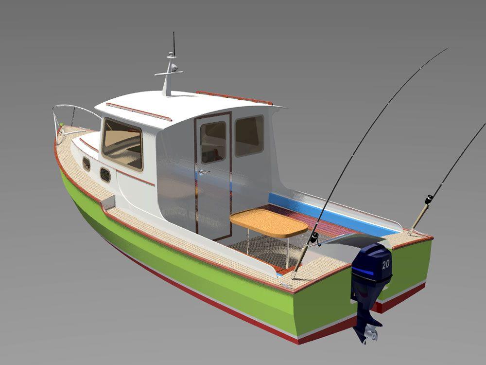 Проекты, схемы и чертежи лодок, катеров, яхт для
