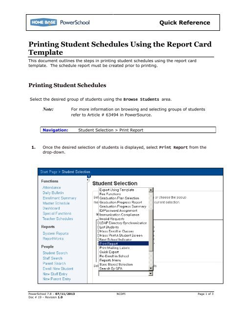 Powerschool Reports Templates 4 Templates Example Templates Example Report Card Template School Report Card Templates