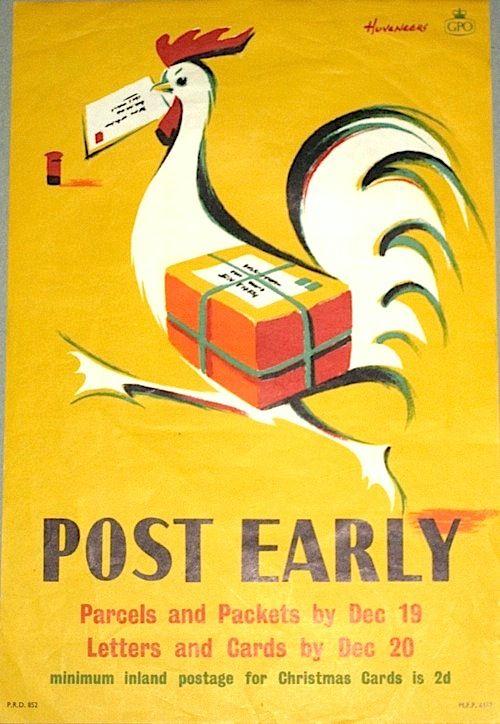 Post Early - Pieter Huveneers, 1956