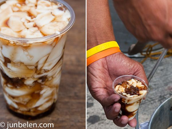 How To Make Taho Silken Tofu With Sago Pearls And Brown Sugar Syrup Brown Sugar Syrup Filipino Food Dessert Food