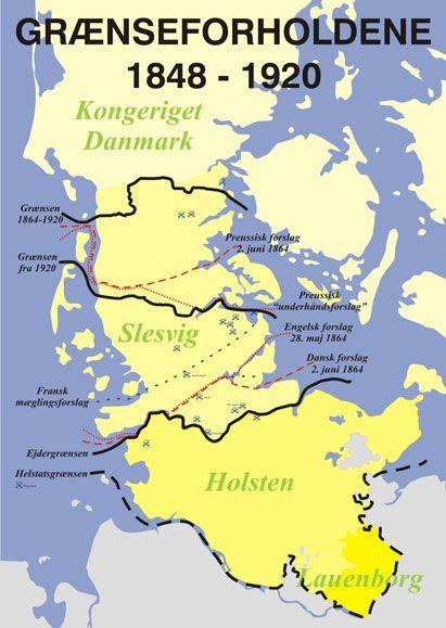 Graenser Gamle Kort Geografi Kort