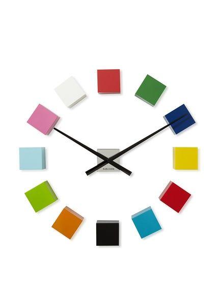 Karlsson DIY Cubic Wall Clock httpwwwmyhabitcomredirectref